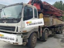 终端精品出售10年出厂三一五十铃46米泵车(叉腿大排量)