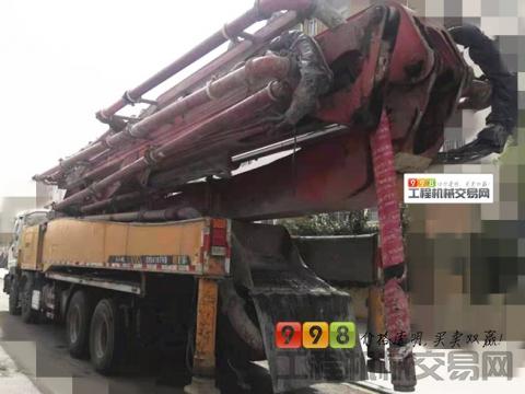 极品转让12年出厂三一五十铃52米泵车(6节臂  带全险 )