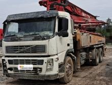 车主出售11年三一沃尔沃37米泵车