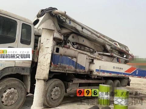 出售11年中联五十铃46米泵车