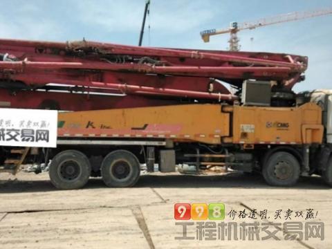 精品出售14年徐工五十铃56米泵车(黑转塔6节臂)