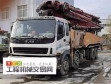 精品出售13年底三一五十铃56米泵车(c8龙象黑转塔)