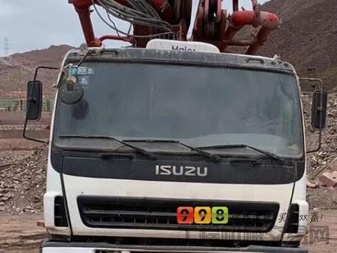 精品出售14年三一五十铃46米泵车(正宗西北好车)