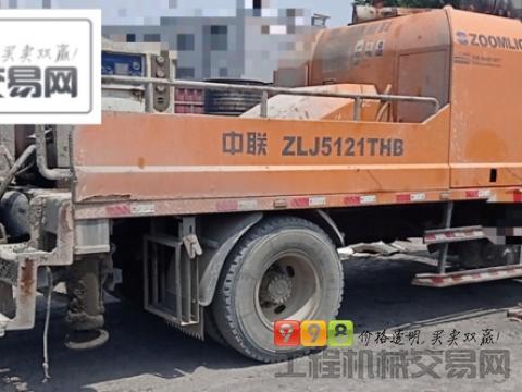 出售13年出厂中联东风底盘9014车载泵