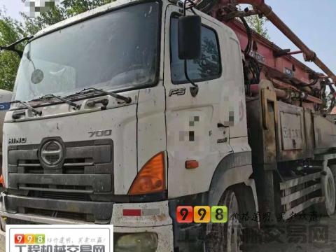 精品出售10年徐工日野41米泵车