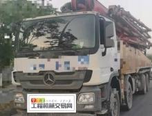 出售17年三一奔驰底盘56米泵车(国四)