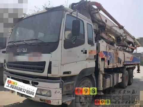 精品出售12年中联五十铃47米泵车