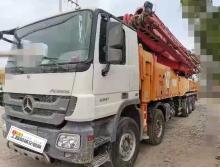出售2014年三一奔驰底盘62米泵车(国四+大排量)