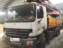 车主出售09年出厂三一奔驰46米泵车(3桥叉腿)