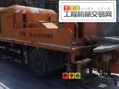 出售14年中联10018车载泵(国四)