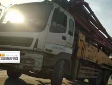 出售2011年三一五十铃46米泵车(三桥黑转塔)
