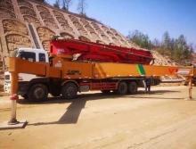 精品出售11年徐工五十铃49米泵车