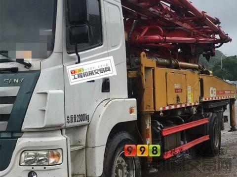 终端精品出售18年出厂三一37米泵车(国五一手车 C8)