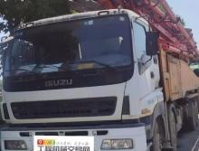 车主精品出售12年三一五十铃56米泵车(六节臂)