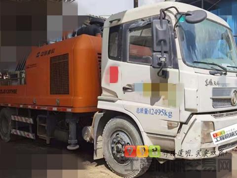 精品出售14年出厂中联10018车载泵(6万方+国四)