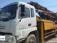 出售14年九邦东风25米泵车