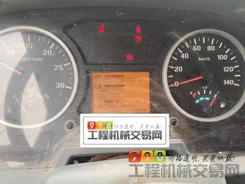 出售17年瑞江欧曼大12方搅拌车(国四带营运证  可拉14方)