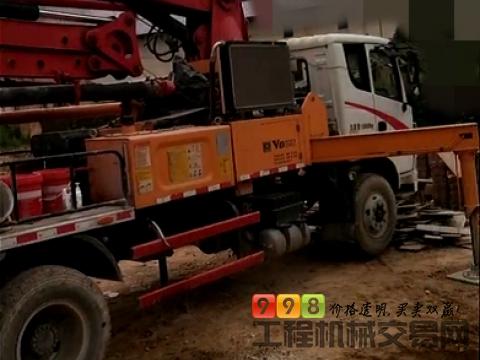 车主直售精品17年三一23米泵车(国四)