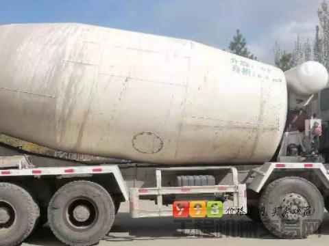 转让2012年豪沃18方搅拌车