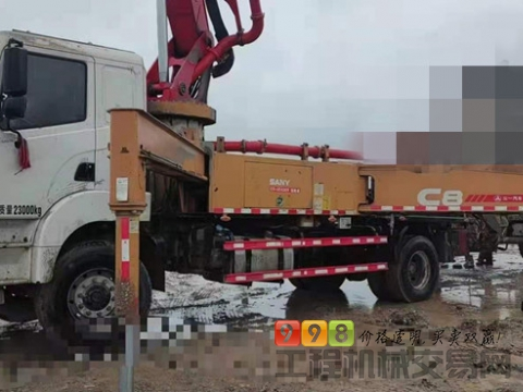 精品转让18年三一37米泵车(国五 两桥  5万方 )暂不卖