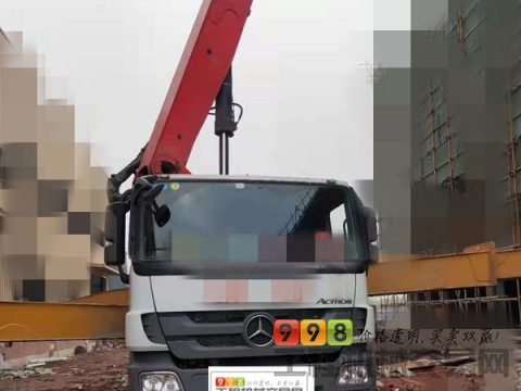 极品一手车转让17年出厂三一奔驰47米泵车(国五 三桥)