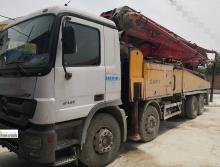 出售11年出厂三一奔驰底盘48米泵车(叉腿+大排量)