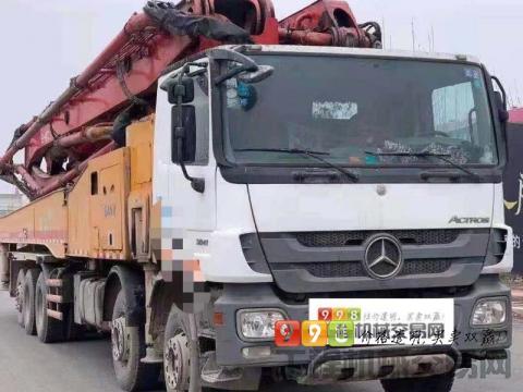 终端出售2013年三一奔驰62米(国四零故障+C8系统)