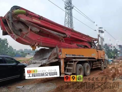 精品出售10年9月三一五十铃50米泵车(自开自打)