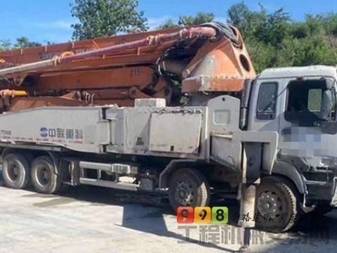 精品转让14年中联五十铃52米泵车(最年轻国三 6节臂)