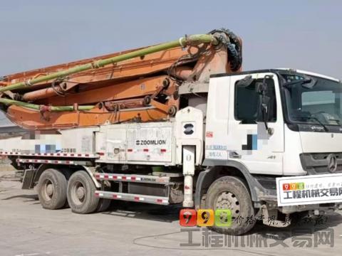 出售北方精品2013年出厂中联奔驰47米泵车