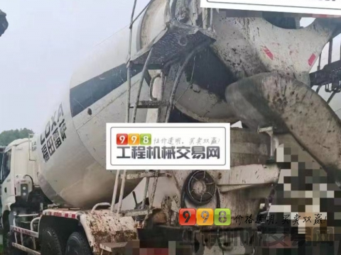 出售13年福田欧曼12方搅拌车(5台大泵)