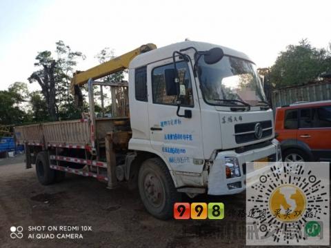 转让东风2012年6.3吨随车吊
