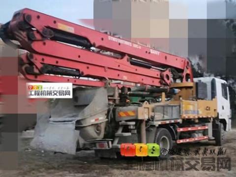 精品出售18年三一30米泵车(国五准新车)