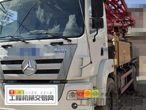 精品出售19年三一37米泵车(5万方)
