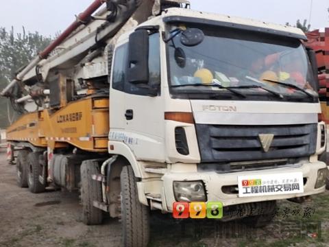 精品出售12年11月福田雷萨52米泵车