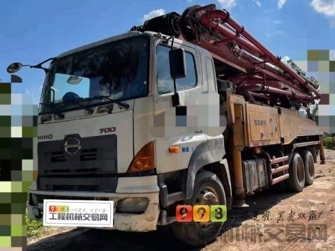 车主精品出售13年出厂三一日野46米泵车(3桥小E黑转塔)
