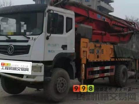 终端精品出售18年农建37米泵车(国五一手车)