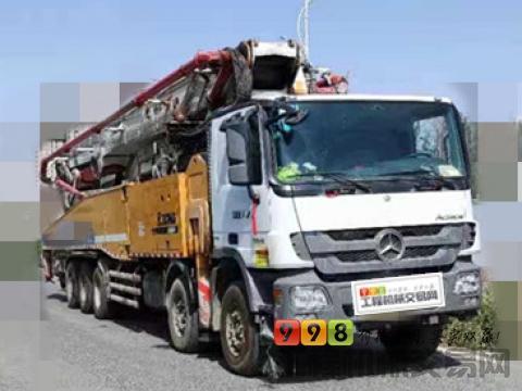 精品转让15年出厂徐工奔驰67米泵车(V7+国四+7节臂双190油泵+开式群阀)