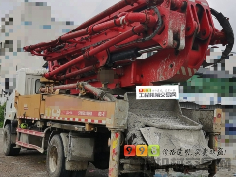 一口价精品出售18年出厂三一37米泵车(国五单桥)
