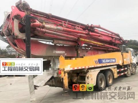 精品出售13年底徐工五十铃56米泵车