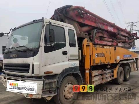 精品出售13年底徐工五十铃46米泵车