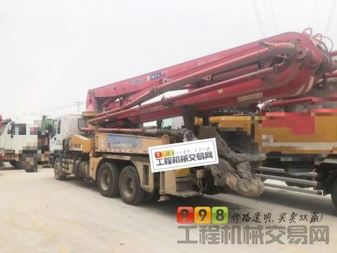 精品出售13年底徐工五十铃37米泵车