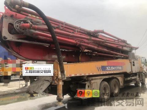 精品出售13年底徐工五十铃52米泵车