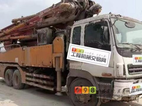 车主出售12年徐工五十铃46米泵车