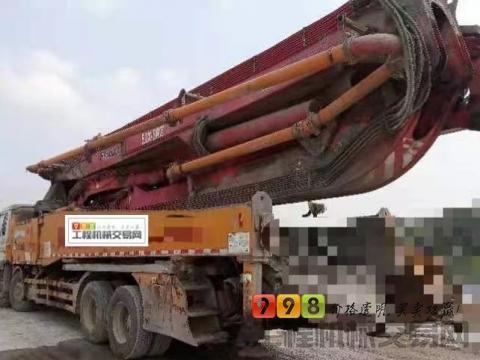 车主出售12年徐工五十铃52米泵车