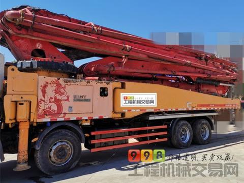 出售14年出厂三一日野56米泵车(经典C8+25万方+全网最年轻国三)