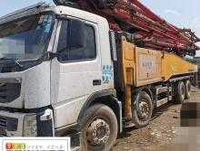 精品转让12年出厂三一沃尔沃56米泵车(6节臂 实表34万方  干活泵)