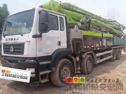 精品转让2021年中联汕德卡63米泵车(国五  不到3万方 可免息分期)