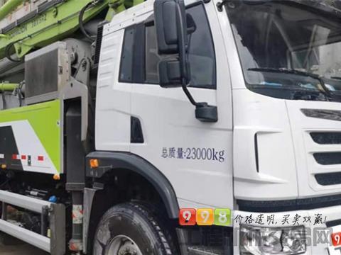 2019年中联解放33米泵车