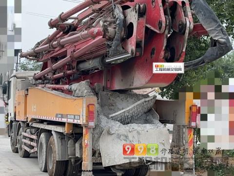 车主精品出售13年三一奔驰52米泵车(6节臂方量不多)
